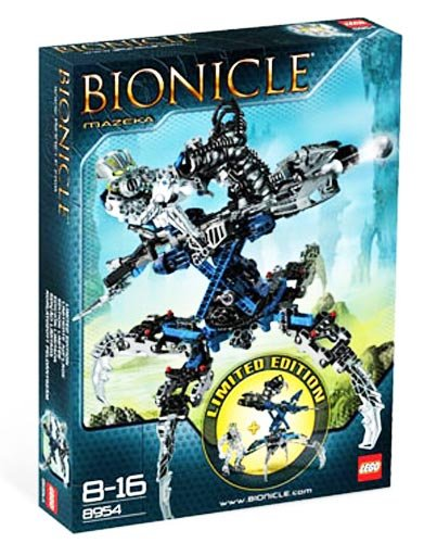 LEGO 8954 BIONICLE Mazeka Limited Edition (japan import)