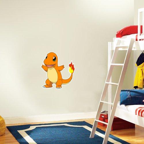 Pokemon charmander wall decal wall decor 25 x 23 wall for Amazon wall mural
