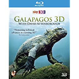 Galapagos With David Attenborough 3d [Blu-ray]