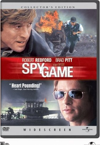 spy game widescreen edition dvd 2001