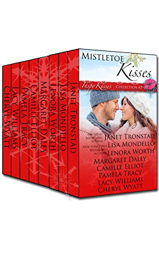 Mistletoe Kisses: Inspirational Romance Boxed Set by Janet Tronstad, Pamela Tracy, Camille Elliot, Lacy Williams, Lisa Mondello, Cheryl Wyatt, Lenora Worth, Margaret Daley ebook deal