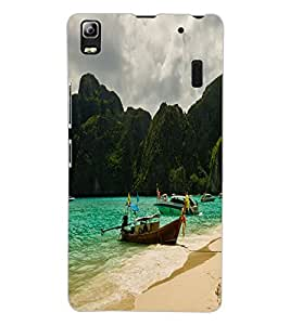 ColourCraft Beautiful Scenery Design Back Case Cover for LENOVO A7000 TURBO