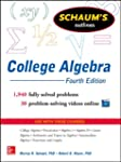 Schaum's Outline of College Algebra,...