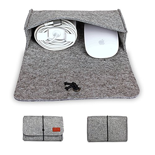 BUBM Apple Notebook Accessories Package Mouse Charger Power Organizer Package (Gray) (Package Of Notebooks compare prices)