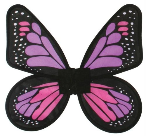Morris Costumes Wings Butterfly Satin Ad Pink/
