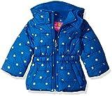 Pink Platinum Girls' Infant Printed Foil Star Puffer Jacket, Royal, 18 Months
