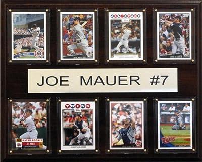 MLB Minnesota Twins Joe Mauer Eight Card Plaque