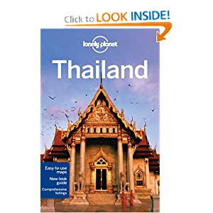 thailand guide book lonely planet