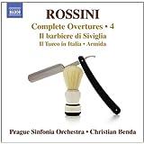 Rossini: Complete Overtures Volume 4 [Christian Benda, Prague Sinfonia Orchestra] [Naxos: 8572735]