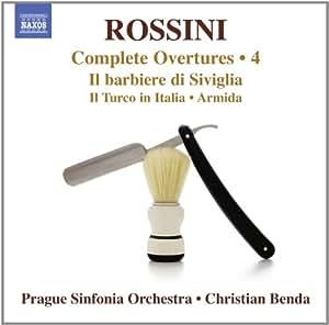 Rossini: Complete Overtures, Vol. 4 - Il barbiere di Siviglia; Il Turco in Italia; Sinfonia in E flat; Ricciardo e Zoraide; Torvaldo e Dorlis