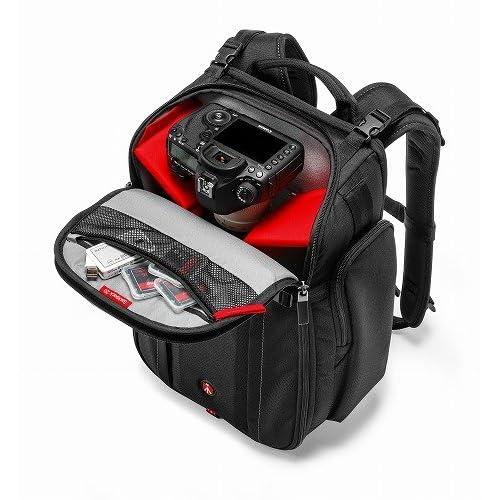 manfrotto カメラリュック Professionalコレクション MPバックパック20 11L レインカバー付属 三脚取付け可 PCスペース有 ブラック MB MP-BP-20BB