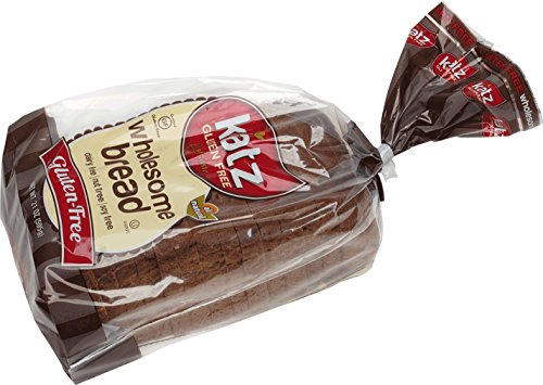 Katz Gluten Free Wholesome Bread, 21 Ounce, Certified Gluten Free - Kosher - Dairy, Soy & Nut free - (Pack of 6)
