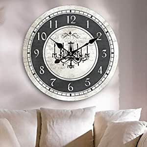 Country Wall Clock Kitchen Home