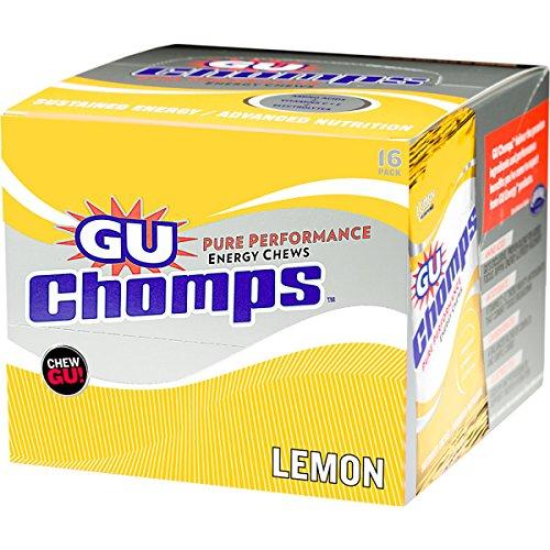 GU Chomps Energy Chews, 16-Count