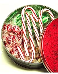 DiabeticFriendly® Christmas Themed Tin Filled with Sugar Free Treats (about 13 oz)