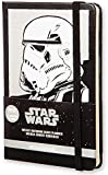 Moleskine 2016 Star Wars Limited Edition Weekly Notebook, 12 Month, Pocket, Black, Hard Cover (3.5 x 5.5)