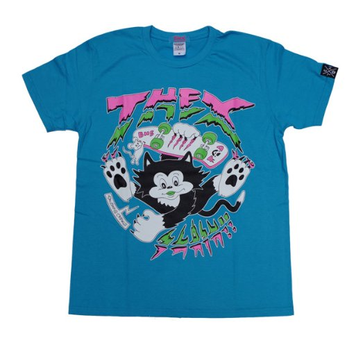 THEX SLASH CAT Tシャツ