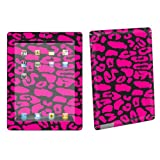 Apple iPad 2 Tablet Decal Vinyl Skin Black Pink Leopard By Skinguardz