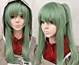 Free Hair Cap+ for Kids and Adults Kagerou Project Kido Tsubomi Cosplay Wig Green Cosplay Convention Event Wigs