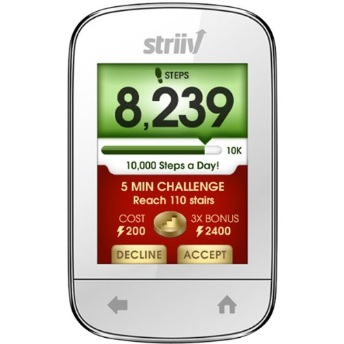 Striiv, Inc STRIIV SMART PEDOMETER (STRV01-001-0H) –
