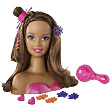 "Barbie Styling African-American Head ""Small"""