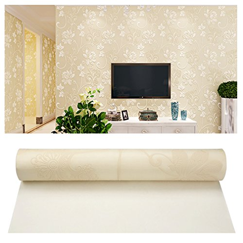 creamy-white-three-layers-no-woven-3d-pattern-wallpaper
