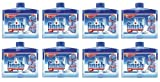 8 x Finish Dishwasher Cleaner Liquid 250ml Intensive Clean & Care