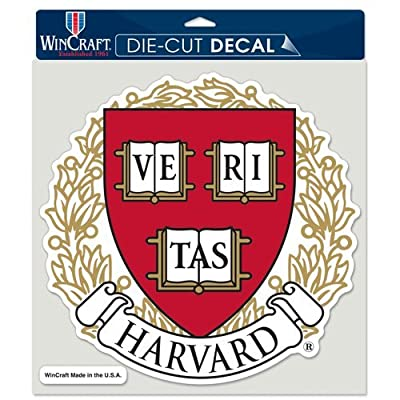 Harvard University Die Cut Full Color Decal 8x8