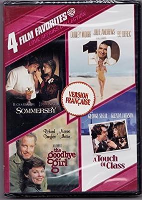Sommersby (1993) / Elle (1979) / Adieu, je reste (1977) / Une maîtresse dans les bras, une femme sur le dos (1973) 4 films (English/French)