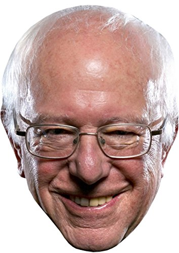 CELEBRITY CARD FACE MASK KIT - BERNIE SANDERS - DO IT YOURSELF (DIY) #4