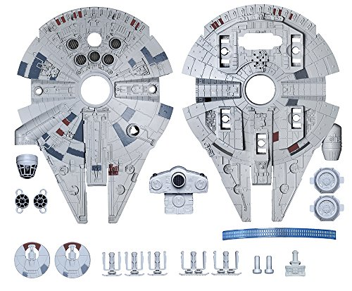 031445016332 - Revell SnapTite Build & Play(TM) Star Wars(TM) Episode 7 Millennium Falcon(TM) carousel main 8