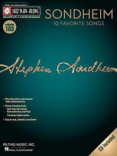 Jazz Play-Along: Volume 183: Sondheim - 10 Favorite Songs