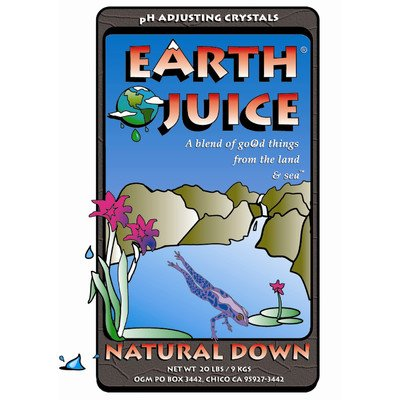 Hydro Organics Hoh84021 0.8-Pound Hydro Organics Earth Juice Natural Down Plant Supplement