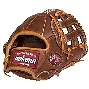 Nokona WB-1200H Walnut Baseball Glove 12 inch (Right Hand Throw)