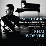 Schubert: Piano Sonatas (Piano Sonatas D840, D850/ Six German Dances/ Hungarion Melody) Shai Wosner