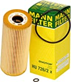 51XTuTn%2BprL. SL160  Mann Filter HU 726/2 X Metal Free Oil Filter
