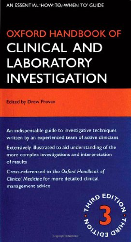 Oxford Handbook Of Clinical And Laboratory Investigation (Oxford Handbooks)