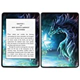 Diabloskinz Vinyl Adhesive Skin Decal Sticker for Amazon Kindle Paperwhite - Dragon and Faerie