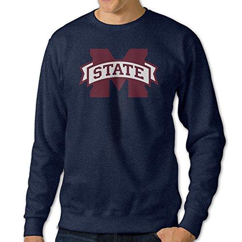[GBABY3 Men's Crew-Neck Mississippi State University Sweater Size XXL] (Brad Pitt Costume Ideas)