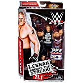 WWE Elite Collection Brock Lesnar Breaks the Streak 21-1 Exclusive Figure Mattel おもちゃ [並行輸入品]