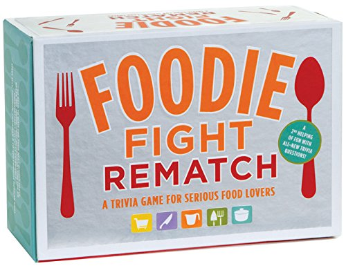 Foodie Fight Rematch: A Trivia Game for Serious Food Lovers