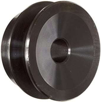 "Martin AK21 P/B Plain Bore FHP Sheave, 3L/4L Belt Section, 1 Groove, 1/2"" Bore, Class 30 Gray Cast Iron, 2.1"" OD, 11814 max rpm, 1.56"" Pitch Diameter/1.9 Datum"