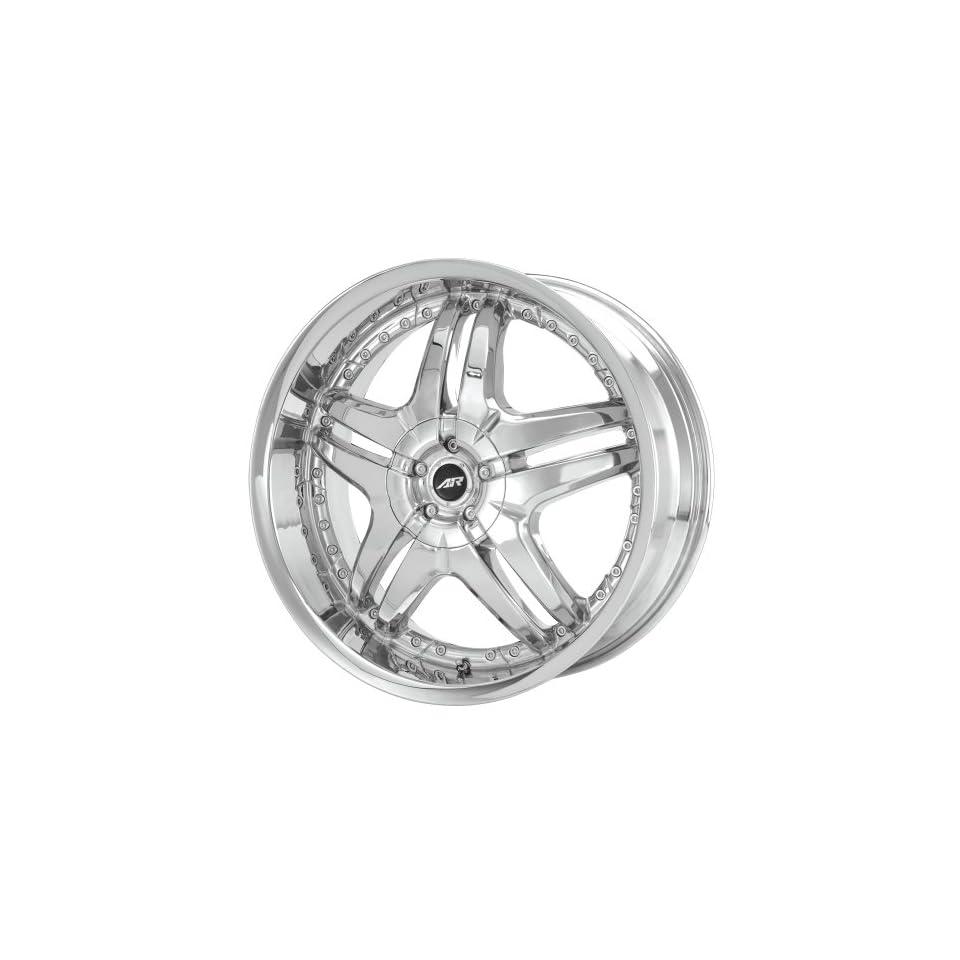 American Racing Burn AR637 Chrome Wheel (24x10/6x127mm)