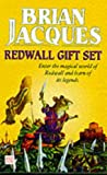 Redwall Gift Set: Outcast of Redwall; Mossflower; Martin the Warrior (0099407086) by Brian Jacques