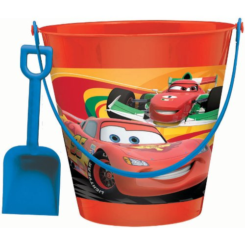disney cars pail with shovel