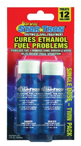 Star Tron Enzyme Fuel Treatment Cures Ethanol Fuel Problems Twin Pack Single