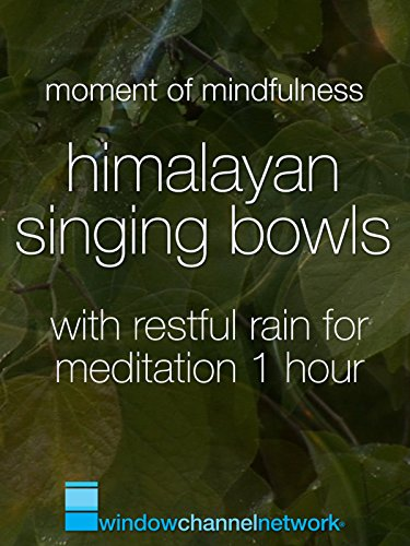 Himalayan Singing Bowls with restful fain for meditation 1 hour