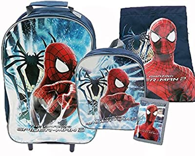 Marvel Spiderman 2 Amazing Spiderman Luggage Set from Trade Mark Collections