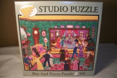 Studio Puzzle - Kemon Sermos Saturday Night 500 Pieces