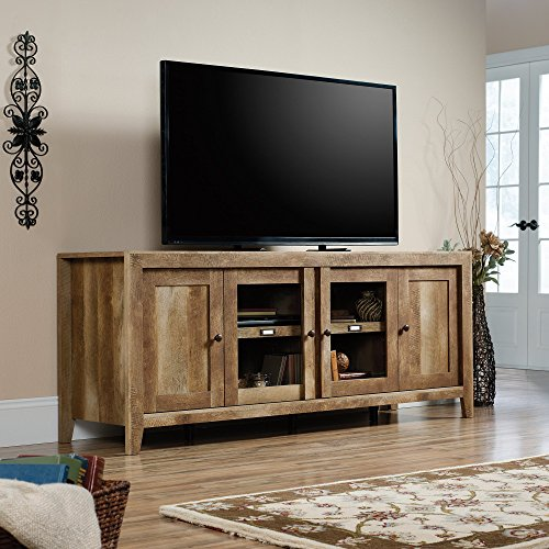 sauder-dakota-pass-tv-stand-in-craftsman-oak